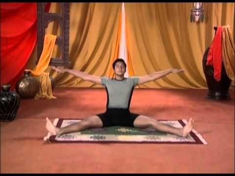 vibhakta paschimottanasana yoga for beginners  youtube