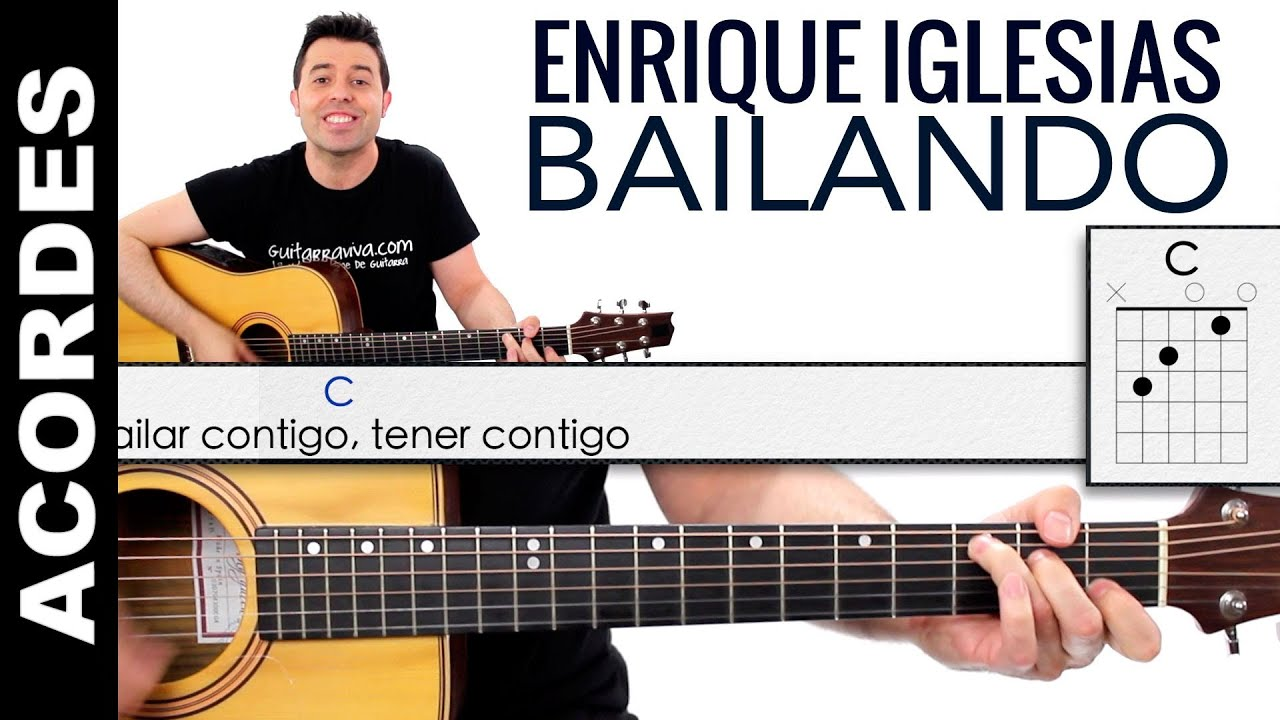 Bailando Enrique Iglesias Video Tutorial Guitarra | apexwallpapers.com