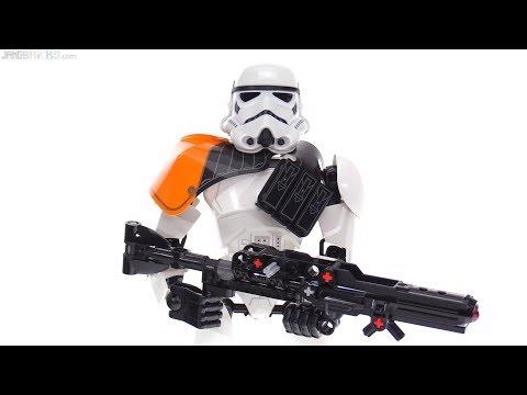 LEGO Star Wars Stormtrooper Commander Large Figure Review! 75531