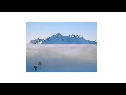 First mountain Face in Les Arcs, Tarentaise, Savoy