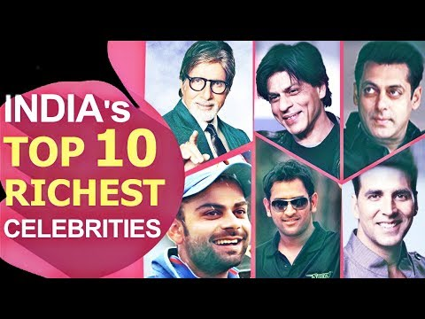 List of Top Richest Indian Celebrity 2018 Forbes