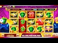 super jackpot 5dragon,5 kepala naga hijau  keluar dari persembunyian nya
