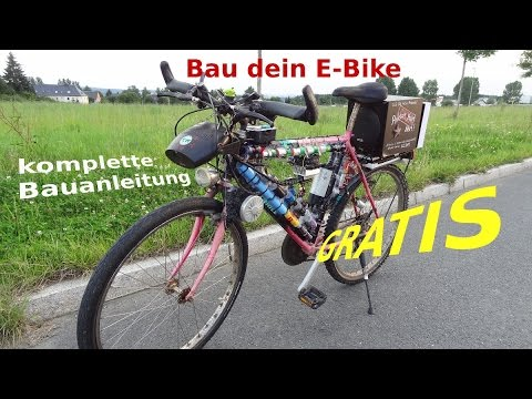 g nstiges e bike bauanleitung zombiezellenfahrrad youtube. Black Bedroom Furniture Sets. Home Design Ideas