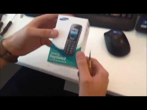 Unboxing Samsung Keystone 2 (E1200 Pusha)