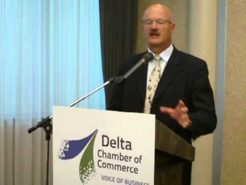 BC Minister of Jobs Tourism and Innovation Pat Bell speaks about jobs and economy