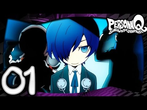 Persona Q Shadow of the Labyrinth - Part 1 - You In Wonderland