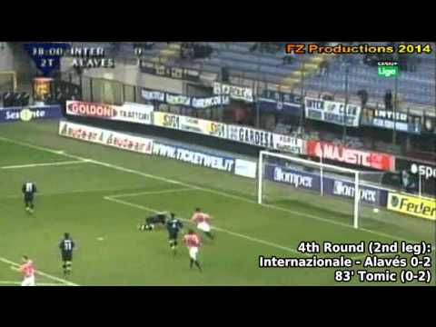 2000-2001 Uefa Cup: Deportivo Alavés All Goals (Road to the Final)