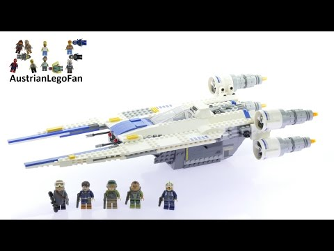 Lego Star Wars 75155 Rebel U-Wing Fighter™ - Lego Speed Build Review