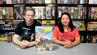 Unboxing of Chicago Express by Queen Games