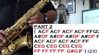 IN THE MOOD - TUTORIALES PARA EL SAX ALTO - SANTIAGO PACHECO