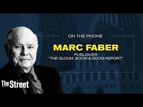 Stock Market Party Coming To An End Warns Marc Faber -  (Part 1/3)