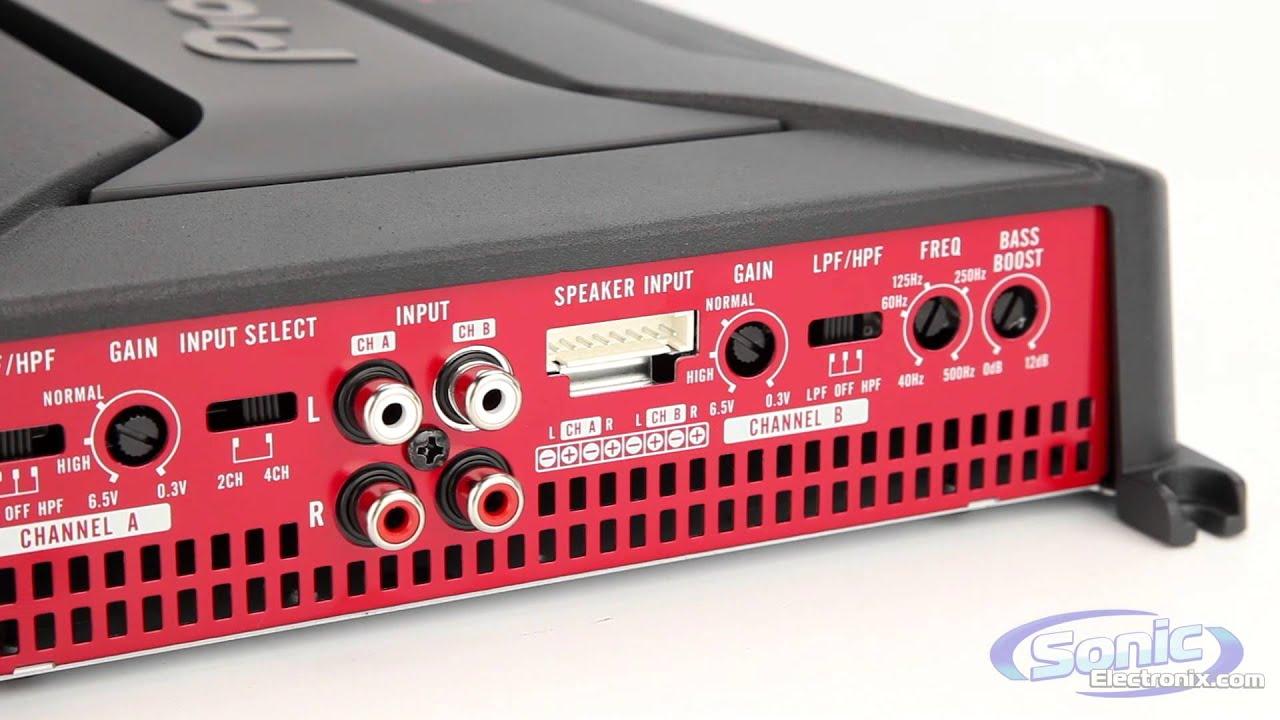 medium resolution of pioneer gm series car amplifiers
