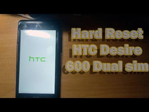 Сброс на заводские настройки смартфона HTC Desire 600 Dual. Hard Reset Lenovo HTC Desire 600 Dual
