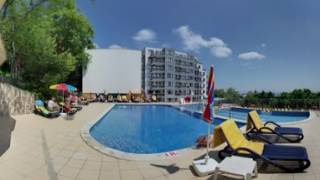 3D Hotel Primasol Sunlight Sunrise. Bulgaria, Golden Sands / 2017 Project 360Q