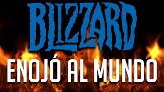 ¿Qué fue lo que hizo Blizzard para enojar al mundo?   Ban a la libertad de expresión.