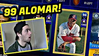 99 ROBERTO ALOMAR IS ON THE SQUAD!! MLB THE SHOW 17 BATTLE ROYALE