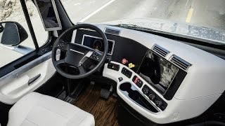 2015 Freightliner Inspiration Truck Interior