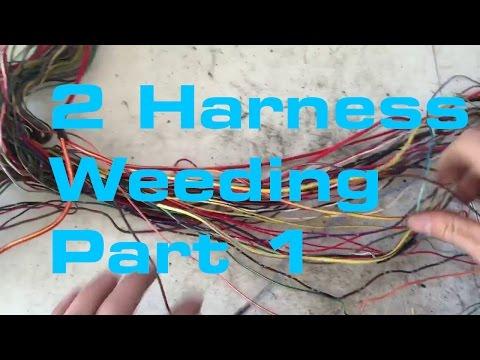 1 Subaru Harness Pull - Wiring Harness Series - YouTube