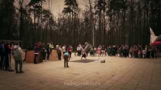 "Parkour -  Workout  in Moscow  парк Фили - молодежное движение ""Свобода Улиц"""
