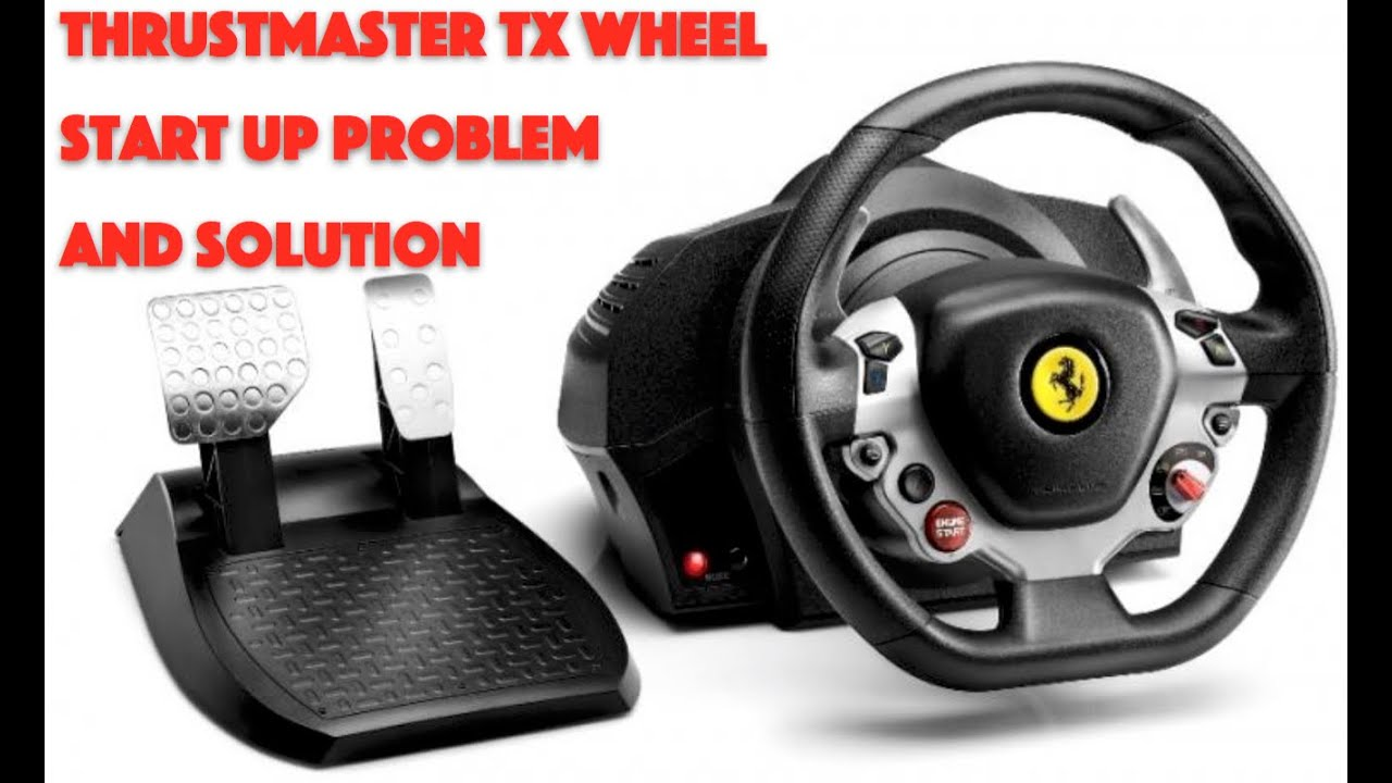 Thrustmaster TX Problem and Solution: Cheap and Easy Fix