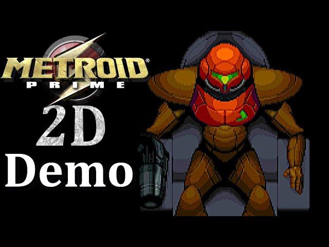 Metroid Prime 2D Remake Demo! Prime 2D Demo Gameplay (Download Link In Description)