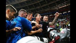 Победа Хорватии 2-1 Англия Чемпионат Мира 2018 Радость Хорватов на улице #ГОТОВЯТДЕТИ