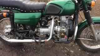 Самый маленький расход на мотоцикле ДНЕПР УРАЛ 2 л ДП / 100 км. ВИДЕО ОТ ЗАКАЗЧИКА!!!!