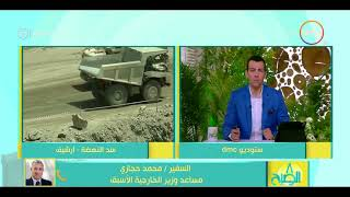 8 الصبح - السفير / محمد حجازي .. لا بد من وجود صيغة للتعاون تجمع بين سدود البلدان الثلاث