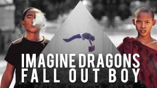 Repeat youtube video Imagine Dragons ft. Fall Out Boy - Radioactive in The Dark