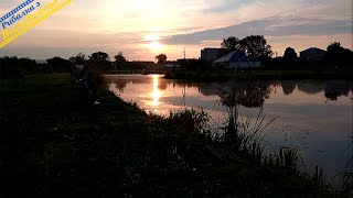 Рибалка на ставку в Горохові