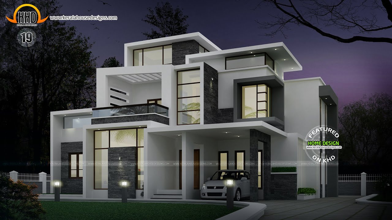 New house plans for march 2015 youtube for Latest modern house plans