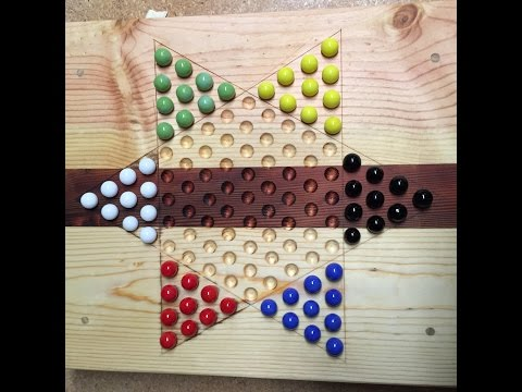 How to Build a Chinese Checker Board