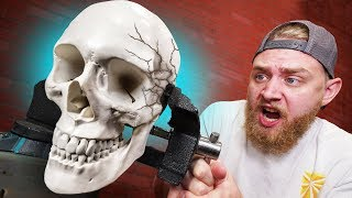 We CRUSHED A Human Skull?!