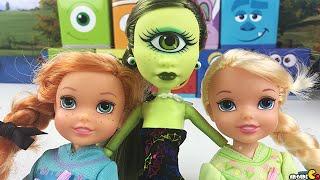Disney Frozen Surprise Trolls Gift Set Monster High Minions My Little Pony Blind Bag Toy Unboxing