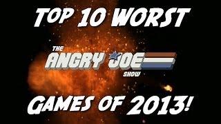 Top 10 WORST Games of 2013!