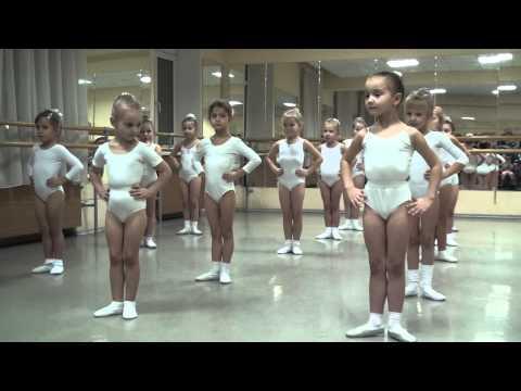 Ч.1 Открытый урок хореографии (Школа танца Елены Морозовой, ДК Октябрь, г. Подольск, 2014)