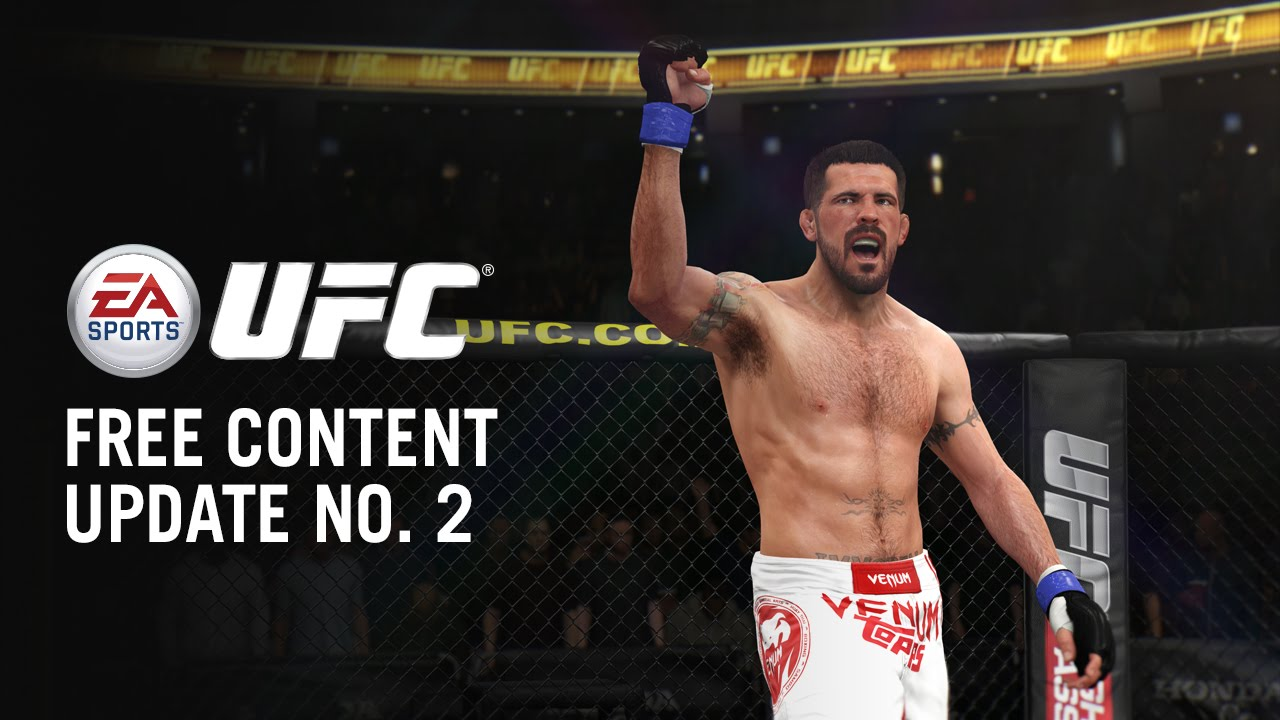 UFC Free Content Update 2 - New Fighters and Gameplay