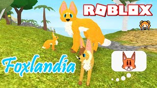 ROBLOX FOXLANDIA - The Mysterious Lands - Fox Animal Game