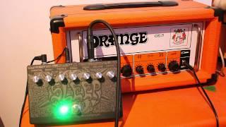 Dunwich DA120 + Orange OR15 = Stoner Doom Metal
