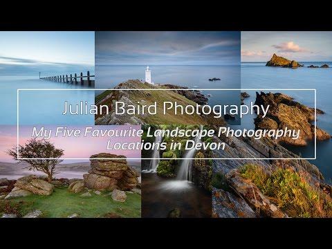 My Favourite / Top 5 / Best Landscape Photography Locations in Devon (in 4K)