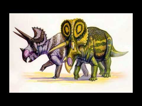 My Triceratops and Styracosaurus Tribute