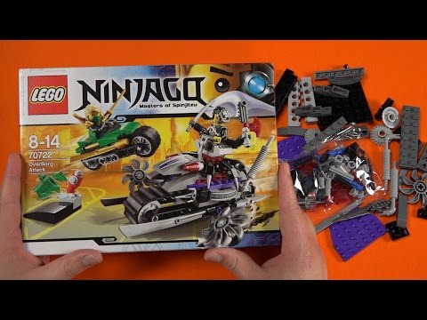 LEGO NINJAGO - OverBorg Attack [70722] Unboxing & Building | Mr.NiceToy