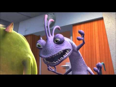 Monsters Inc. Danish - Randall - YouTube