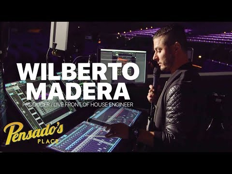 Pitbull's Live Front of House Engineer / Producer, Wilberto Madera – Pensado's Place #375