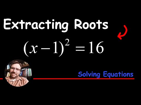 How To Solve By Extracting Square Roots - Quadratic Polynomial Equations
