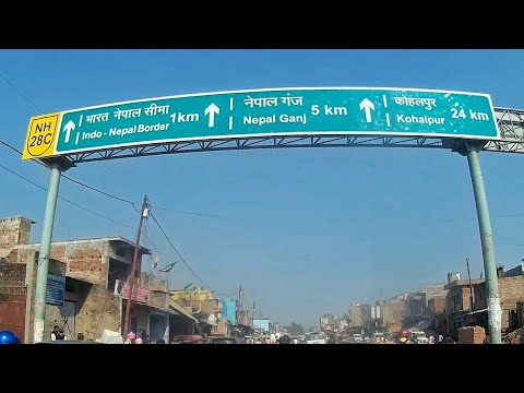 Nepalganj (Rupaidiha) Market and Railway Station ft. KTM RC 200