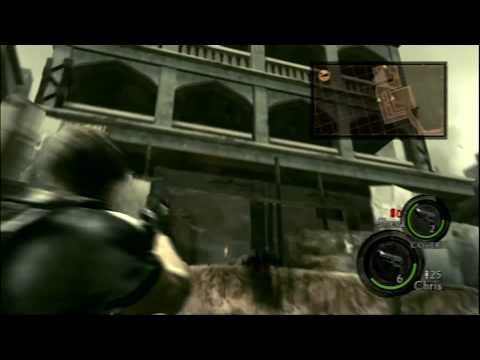Resident Evil 5 PS3 Gameplay - Level 2, Part 1