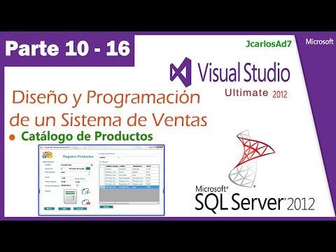 Sistema de Ventas en Visual Studio 2010 y SqlServer 2008(10-16) Mantenimiento de tabla relacionadas