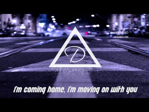 Marshmello - Moving On Lyrics ( Nightcore )