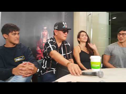 The Ghost Bride Digicon with Matteo, Ina, Victor, Christan and direk Chito Roño